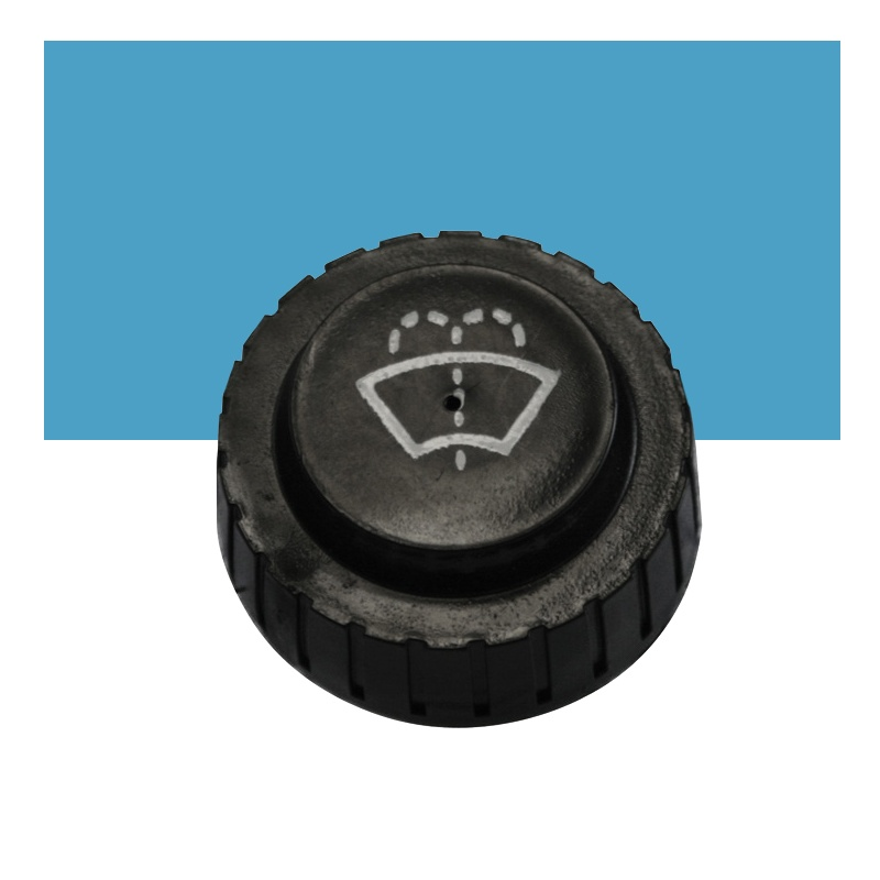 1.625 Inch Multi-Purpose Threaded Cap - Washer Symbol - HDPE w/EPDM ...
